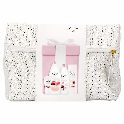 Dove Feel Good Washbag Gift Set With 4 Skin Care Items
