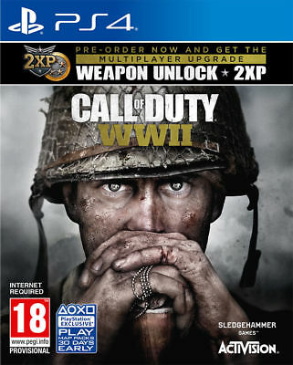 Call of Duty WORLD WAR II seconda guerra mondiale WWII WW2 PS4 PRONTA CONSEGNA
