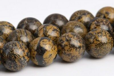 8MM Natural Artistic Jasper Grade AAA Round Gemstone Loose Beads 15.5""
