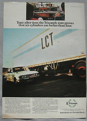 1973 Triumph 2000 Original advert