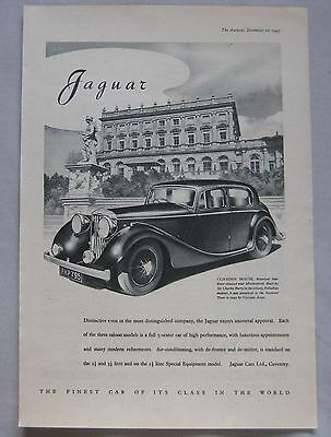 1947 Jaguar Original advert No.1