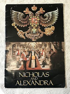 Vintage Movie Programme NICHOLAS AND ALEXANDRA 1971 Columbia Pictures Program