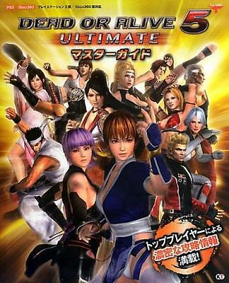 DEAD OR ALIVE DOA 5 Japan Game KOEI Ultimate Official Guide Book Japanese Mint