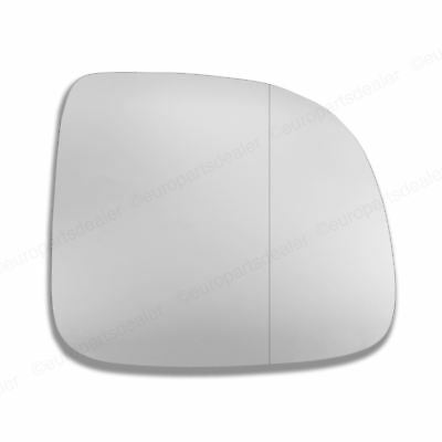 Driver Side WIDE ANGLE WING MIRROR GLASS VW Transporter T5 2010-2016 Stick On