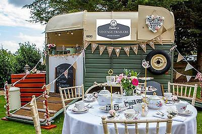 Horsebox conversion catering trailers with a Vintage twist..