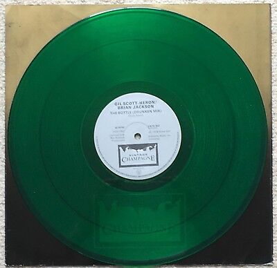 "Gil Scott-Heron / Brian Jackson - The Bottle 12"" Green Vinyl - Uk Champagne"