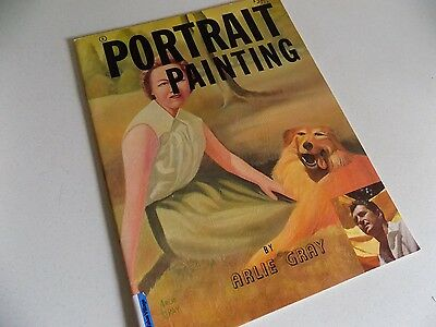 Vintage Portrait Painting Art Instruction Arlie Gray 1961