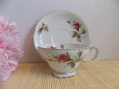 Vintage Cup and Saucer Set TM China Made in Japan