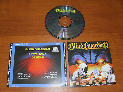 "Blind Guardian "" Battalions Of Fear "" 1989  Cd !"