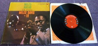 Miles Davis, Miles Ahead, 1957 Usa Columbia Six Eye Record Label Mono Lp.