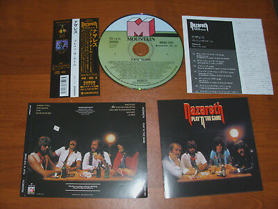 "Nazareth "" Play 'n' The Game "" 1976 Cd  ! With Obi !"