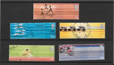Gb 2002 Commonwealth Games Set - Used