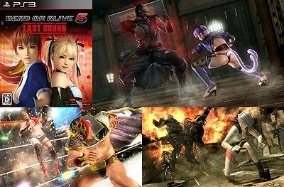 DEAD OR ALIVE DOA 5 Japan Fighting Anime Game KOEI Last Round Sony PS3 PS 3 Mint