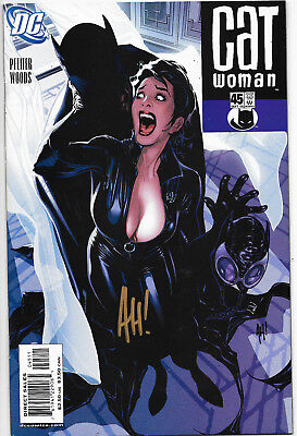 Catwoman (Vol.3) #45 DC Comics Signed Adam Hughes Cover NM