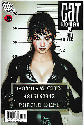 Catwoman (Vol.3) #51 DC Comics Adam Hughes Cover NM-