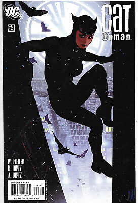 Catwoman (Vol.3) #64 DC Comics Adam Hughes Cover NM-