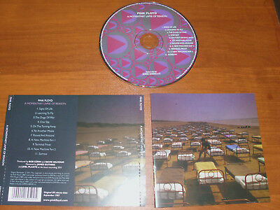 "Pink Floyd "" A Momentary Lapse Of Reason "" 2011  Cd !"