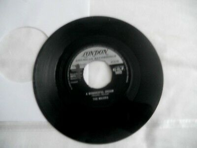 The Majors,a Wonderful Dream,1962 London Label,no Center,northern,mod,vg Play Ex