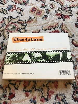 Charlatans I Never Want An Easy Life CD Single