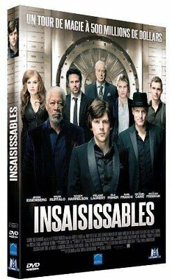 DVD - Insaisissables - Jesse Eisenberg,Mark Ruffalo,Louis Leterrier