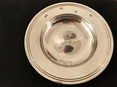 Solid Silver Dish Made by Mappin & Webb