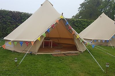 5 Metre Bell Tent Hire in Dorset and surrounding areas - Glamping - Festivals!
