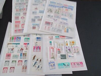 Germany West & Unified - Pristine Mnh Collection Of 200+ Sets On Stockcards