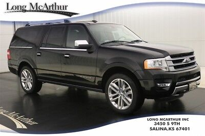 2017 Ford Expedition EL PLATINUM 4X4 NAV SUNROOF MSRP $71210 BLIND SPOT INFO SYSTEM HD TRAILER TOW PACKAGE HEATED COOLED FRONT SEATS