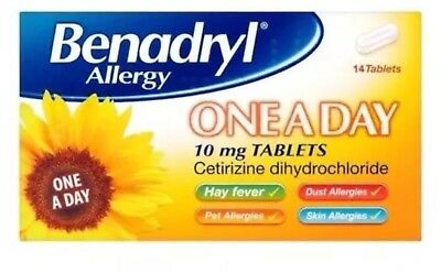 Benadryl Allergy One A Day Relief 14 Tablets , Cheapest Price