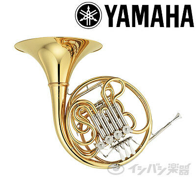 YAMAHA Japan YHR87D Full Double French Horn Musical Instrument 3 Years Warranty