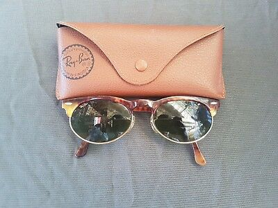 Gafas Ray Ban Vintage B&L bausch and lomb Ray Ban Oval W1268 Clubmaster Wayfarer