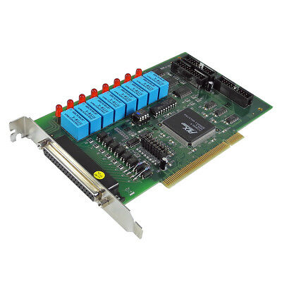 ADLINK  NuDAQ PCI-7250 8-Ch Relay Outputs / 8-Ch Digital Inputs Bus Card