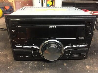 Clarion Double Din Cd Bluetooth Hand Fee