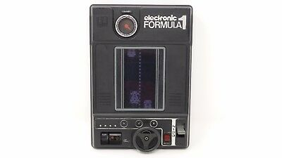 Retrogames Tomy Electronic Formula 1 Handheld game & watch portable videogame