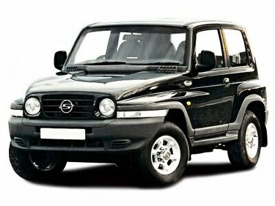 MANUALE OFFICINA SSANGYONG my 1997 - 2000 WORKSHOP MANUAL mail