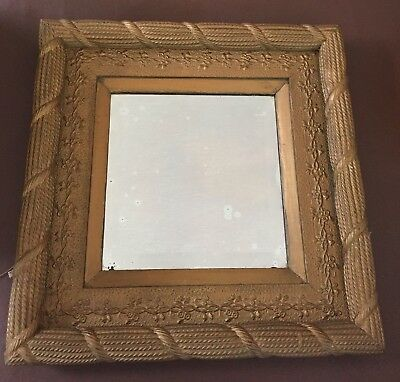 Antique Rope Edged Mirror