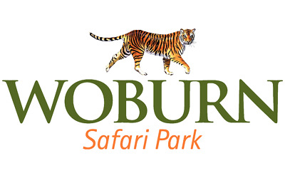 4 Tickets to Woburn Safari Park Exp 31/12/17  - 2 Adults, 2 Children RRP £77.96