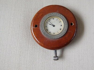 Military Navy Wall Mount Ships Clock 8 Day Antique Waltham Deck Watch