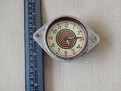 S15 Vintage Military Aviation 8 Day Aircraft Clock Wwii Bullseye Dial Cockpit