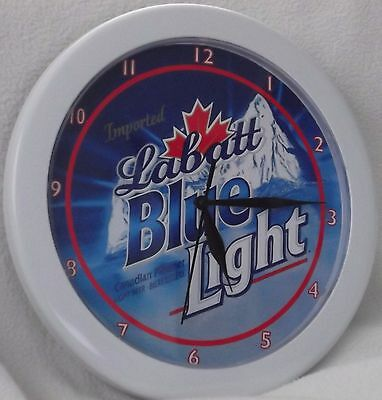 Labatt Blue Light Beer Sign Wall Clock!
