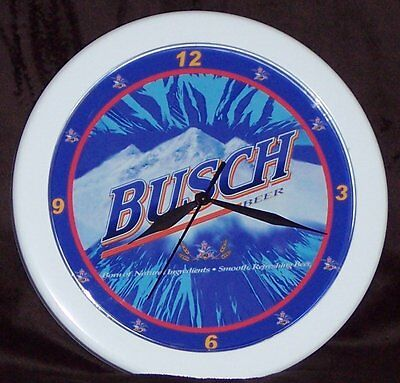 Busch Beer Sign Wall Clock