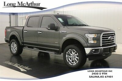 """2017 Ford F-150 LMSE XLT 4X4 AUTOMATIC SUPER CREW MSRP $64220 REMOTE START TWIN PANEL MOONROOF VOICE NAVIGATION 20"""" CHROME WHEELS"""