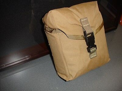 New  Military Issue Coyote Brown Utility Pouch Usgi Molle 200 Rd Saw