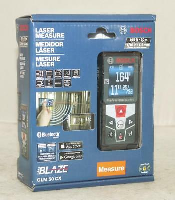 Bosch GLM 50 CX 165 Ft. Laser Measure New in Box