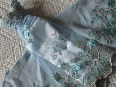 A Very Rare Beautiful Gown From Tonner Highly Beaded And Decorated Fits Gene
