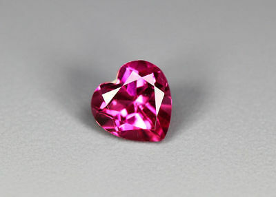"0.85 Cts"" Fair Collection ""Very Rare Gemmy-100 % Natural Rose Garnet - Srilanka"