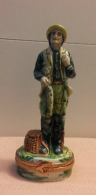 Limoges Sinclair Limited Edition #1/750 Fisherman---A Rare Gem!!!