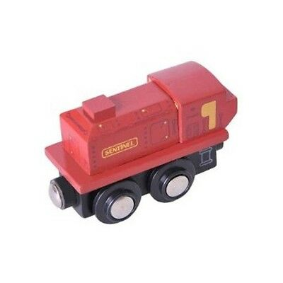 BigJigs Wooden Railway Heritage Collection Sentinel Train Engine BJT435