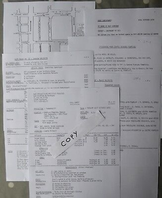 ROGER MOORE James Bond 007 MOONRAKER Callsheet 57+Extras 6 Pages Collectable