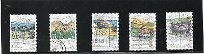 Sg 1353-7 Australia Land Conservation Fine Used Set